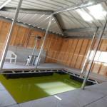 Enclosed Fishing Dock
