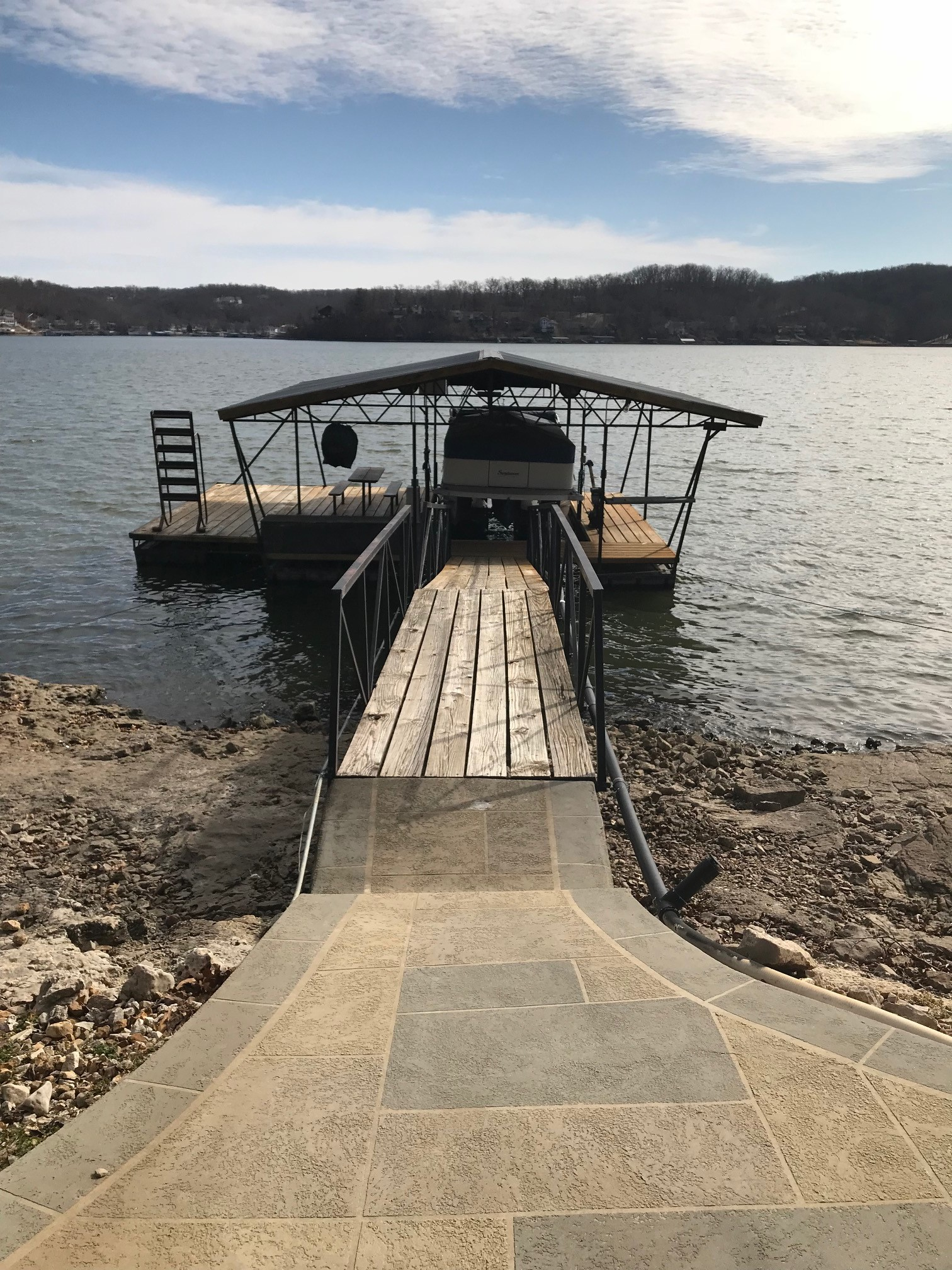 Used Docks Rough Water Dock Lake Of The Ozarks