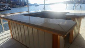 Concrete counter top addon