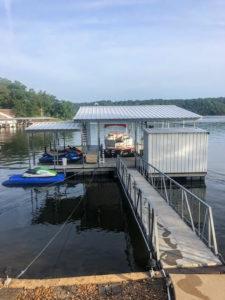 Used Docks - ROUGH WATER DOCK   LAKE OF THE OZARKS