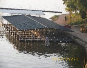 Millstone Dock nearing completion.